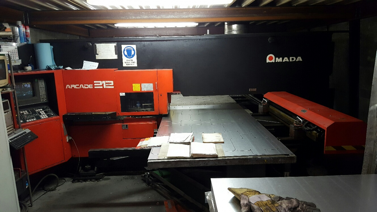 amada arcade 212 stanzmaschinen punch model 1995 1270 mm x 2050 mm 1270 mm x 4000 mm 1 20161010 1047594658